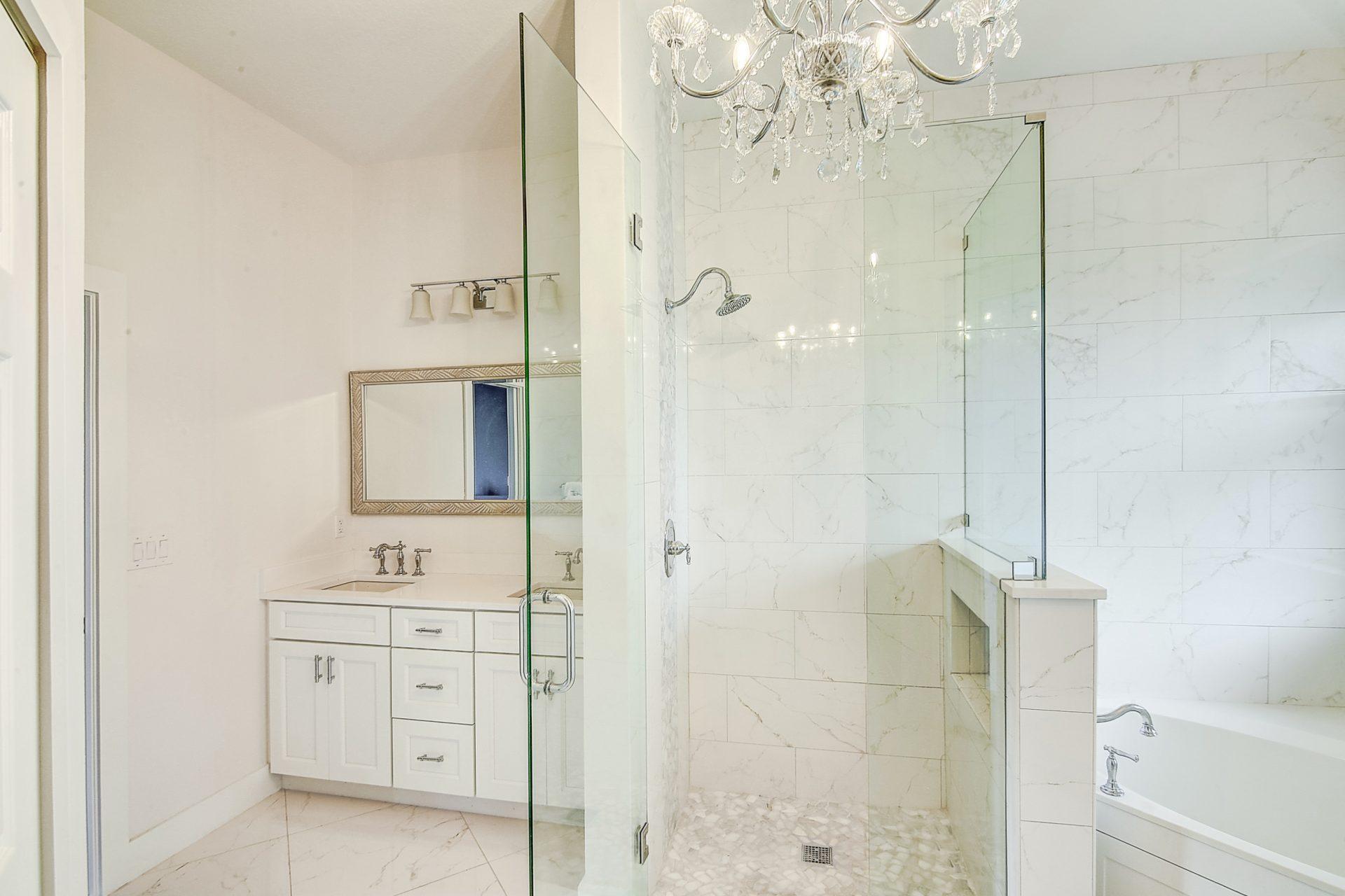 Fern Circle | Master Bathroom Shower