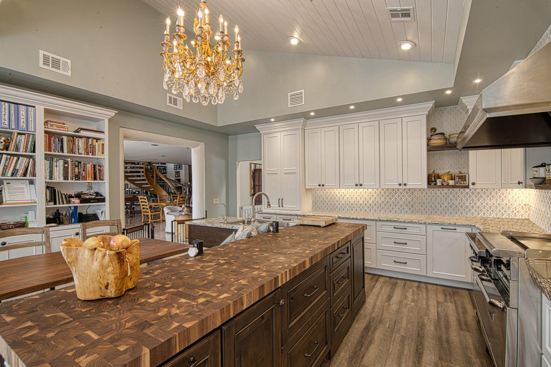 Cozinha Feliz | Kitchen Butcher Block Countertop
