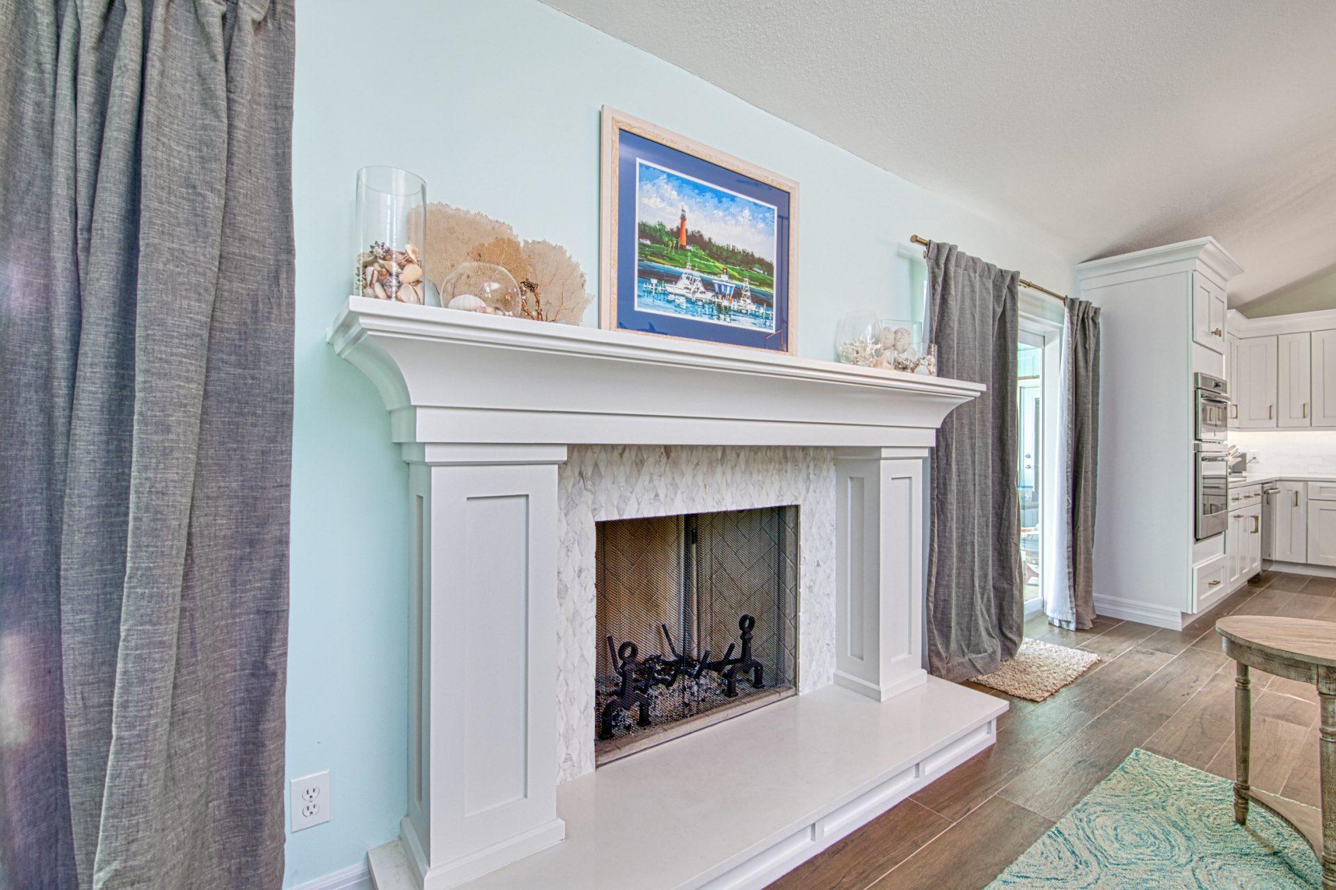 Poplar Court | Fireplace