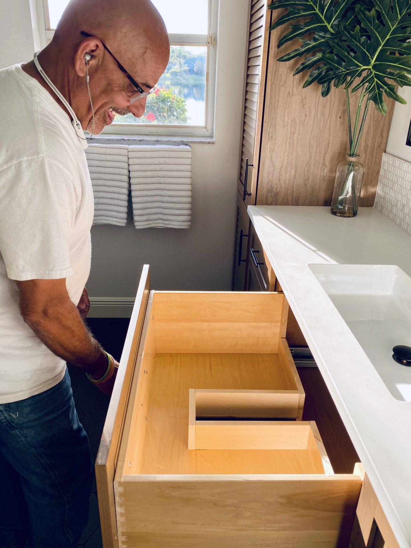 Guest Bathroom Sanctuary | Vanity Storage