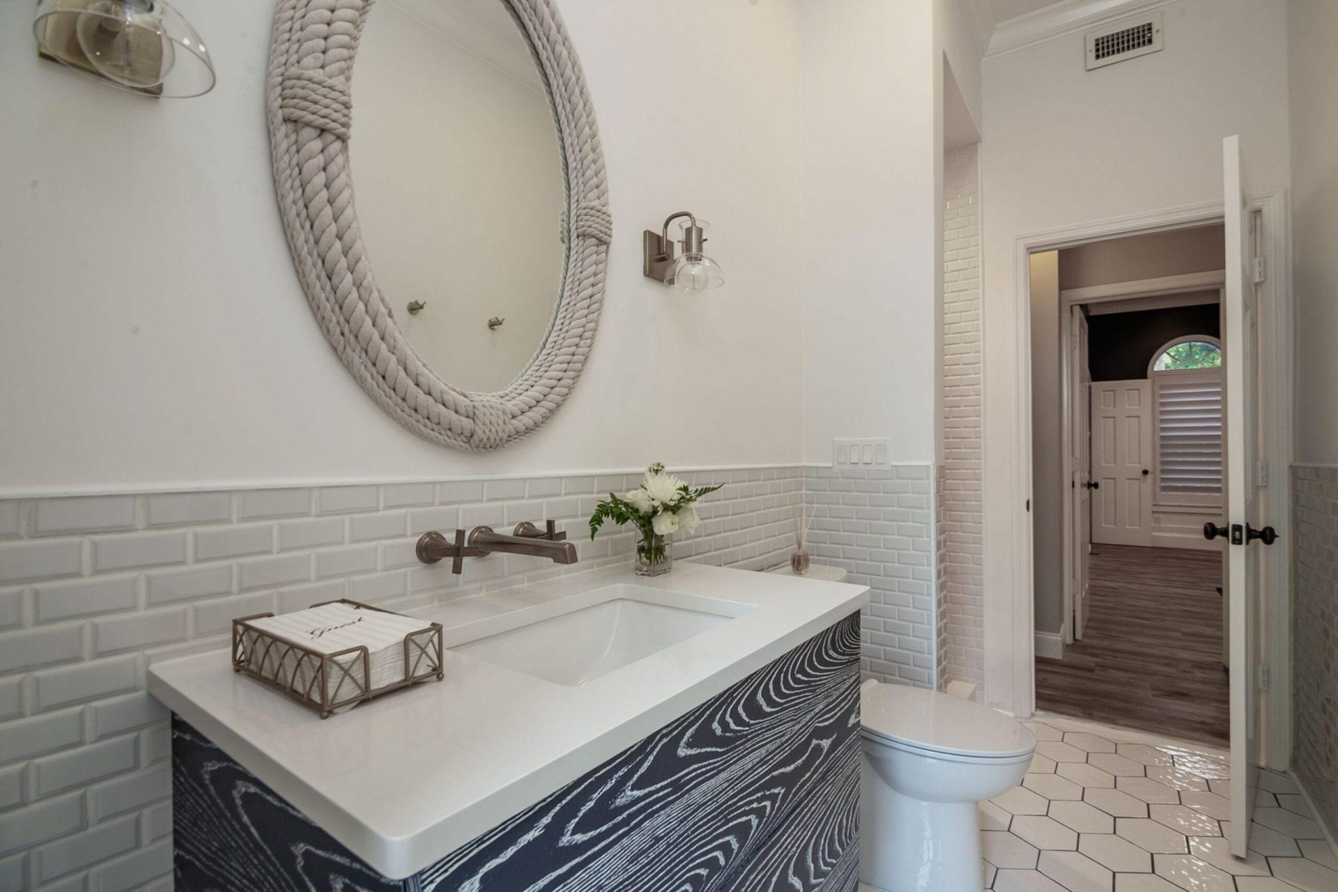 Moody Manor | Cabana Bathroom