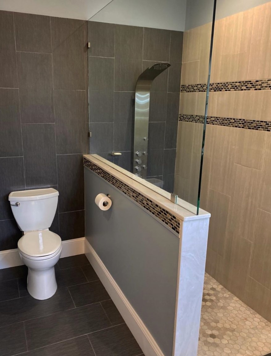 Modern Coastal Sanctuary | Bathroom | Before