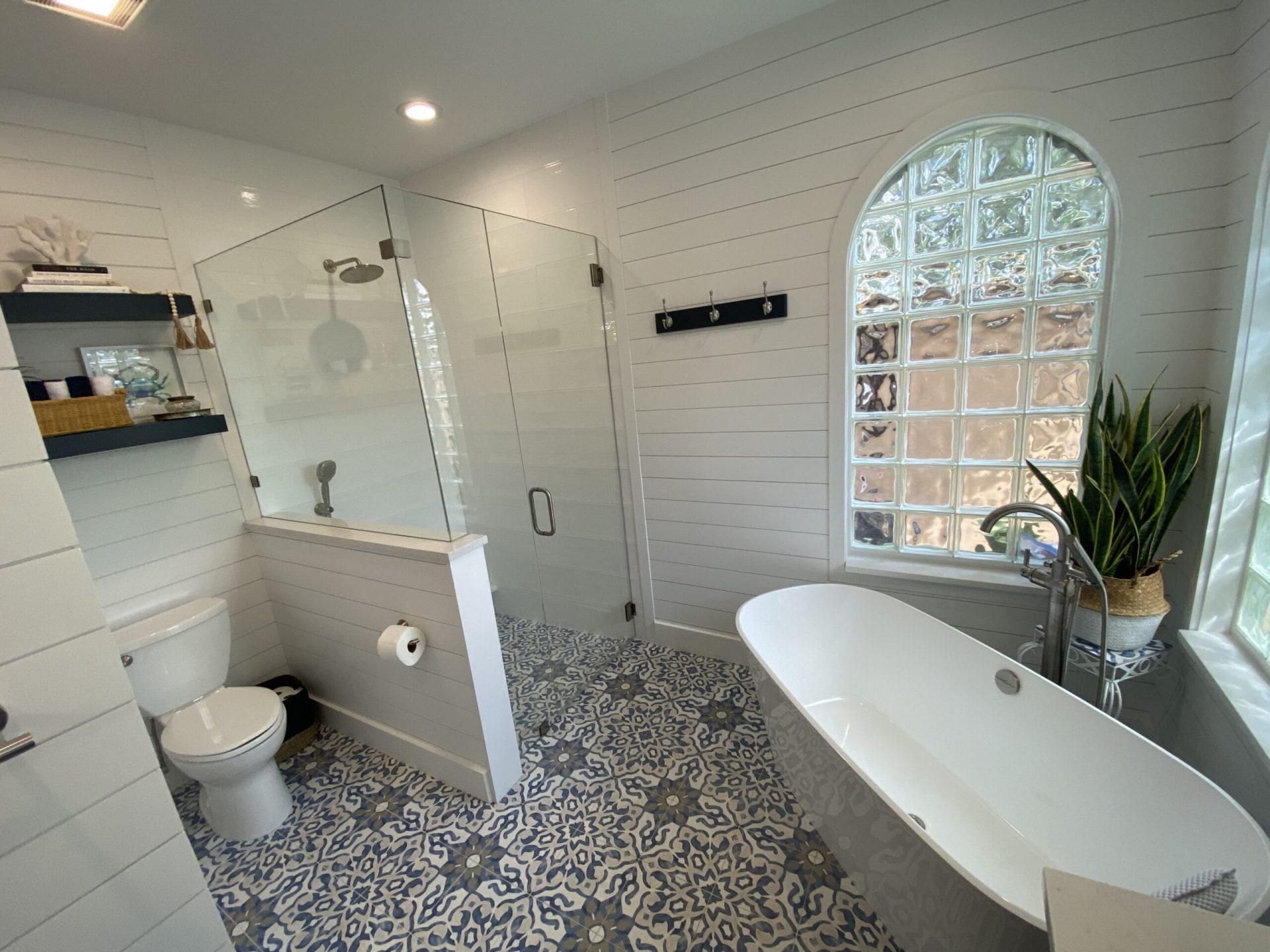 Modern Coastal Sanctuary | Bathroom
